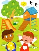 Annonce garde d'enfants. 9707988-aire-de-jeux-illustration-de-bande-dessinee-d-39-un-jeune-garcon-noir-et-une-fille-caucasien-jouer-e1