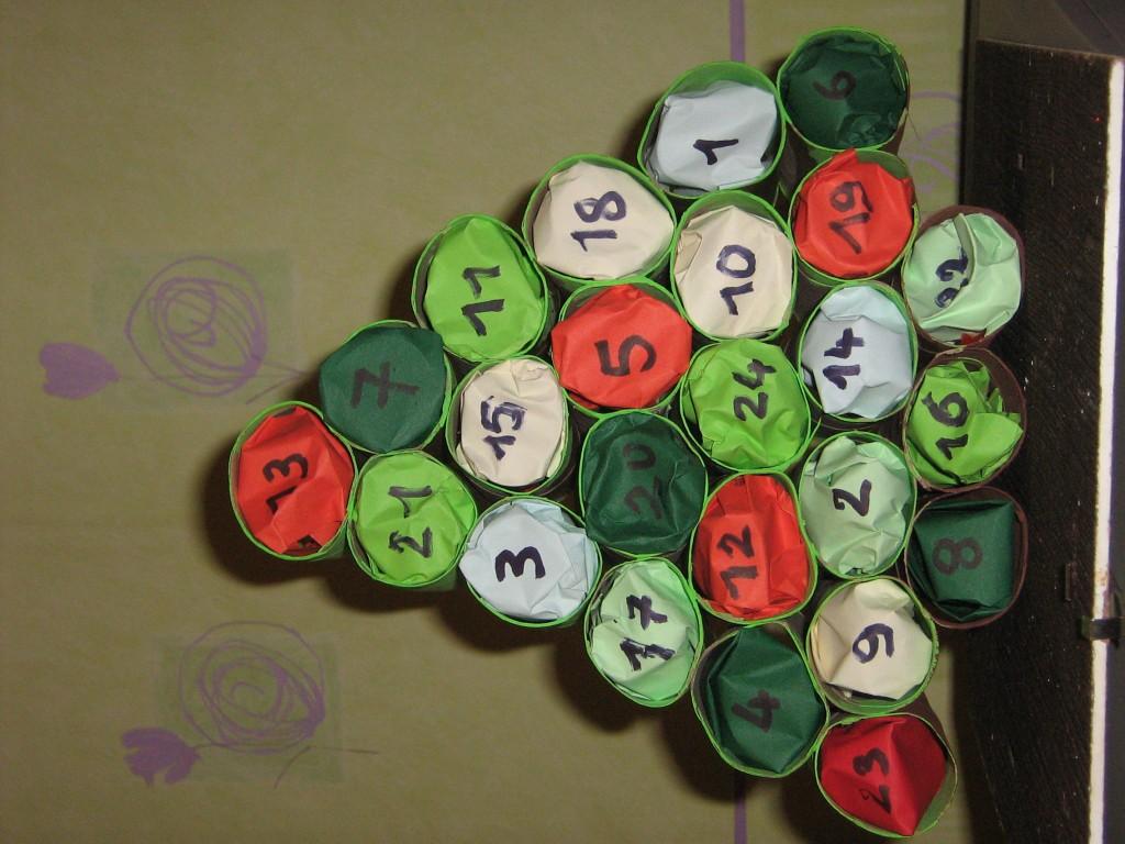 Activit calendrier de l avant d cembre 2012 - Activites manuelles pour noel ...